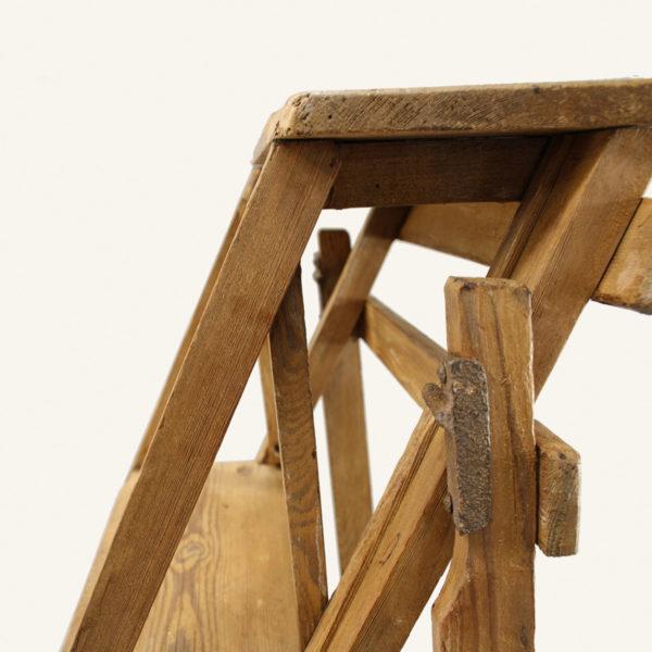 Large Vintage Wooden Ladder