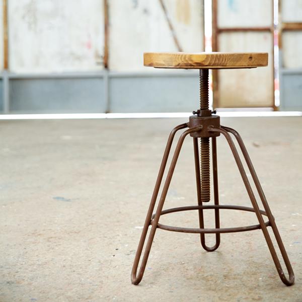 kitchen_stool_adjustable_wood_iron_