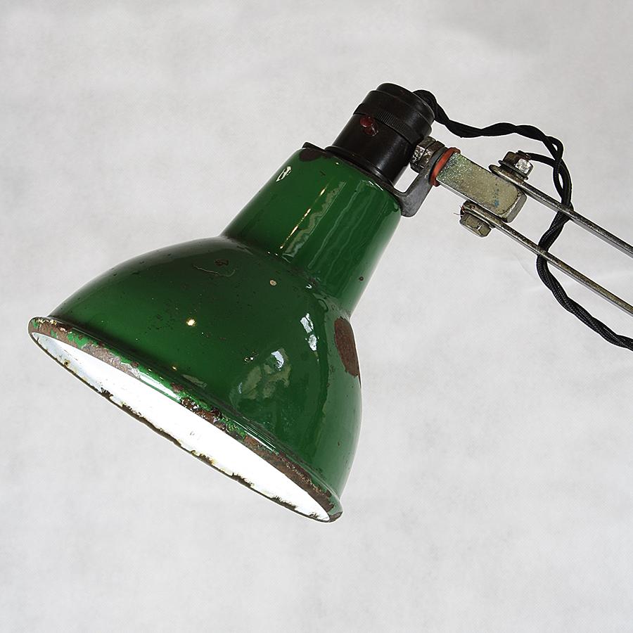 L1001 Vintage Industrial Machinists Lamp Light_2