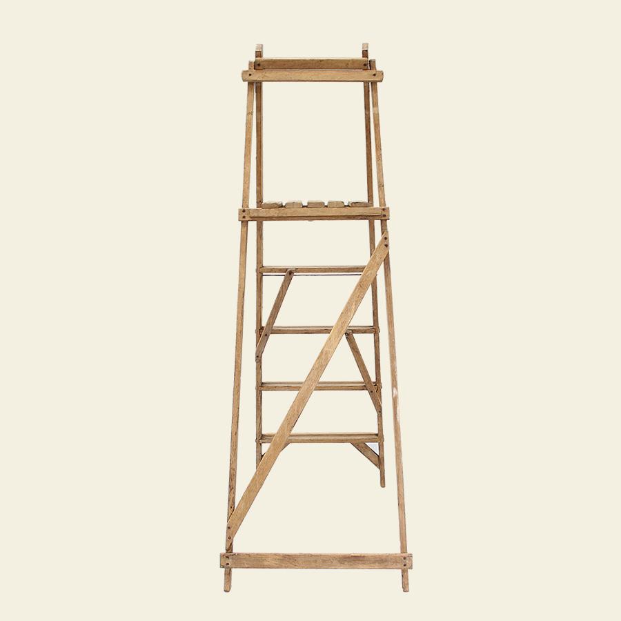 Vintage Wooden Ladder 52