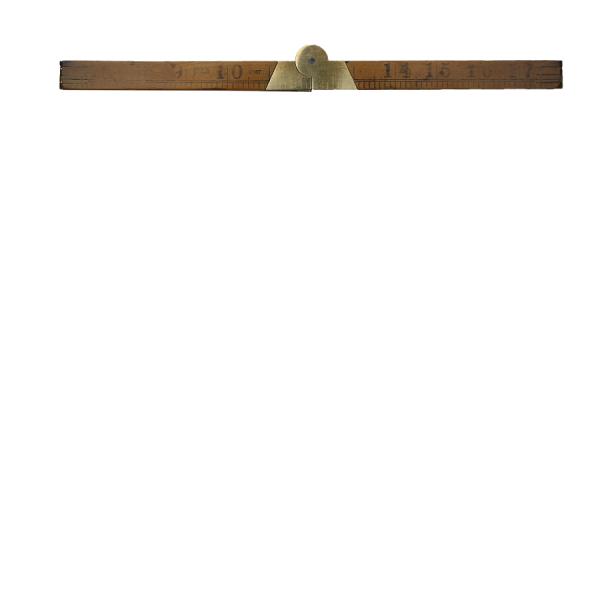 vintage_wooden_rule_ruler_folding_