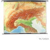 vintage_giant_wall_map_alps_geographical_