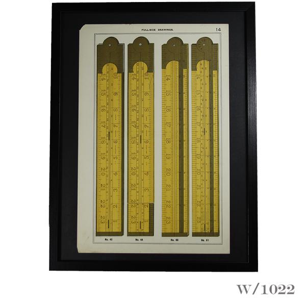 framed_vintage_print_of_boxwood_rules