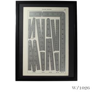framed_vintage_print_of_steel-rules