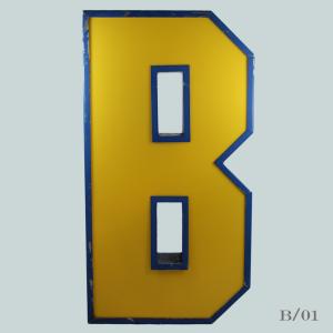 vintage_letter_B_letter_blockbuster_light_