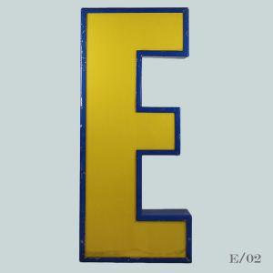 vintage_letter_E_light_blockbuster_light_