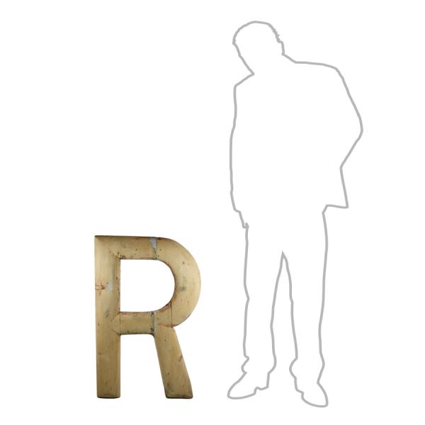 vintage_letter_R_wooden_large_
