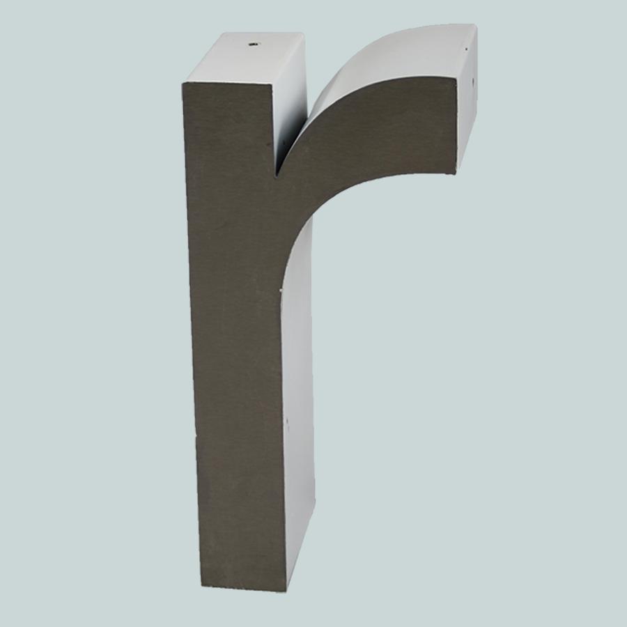 Vintage letter r vintage matters for Stainless steel letters buy online