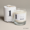 Green Fig Scented Candle Glass Jar