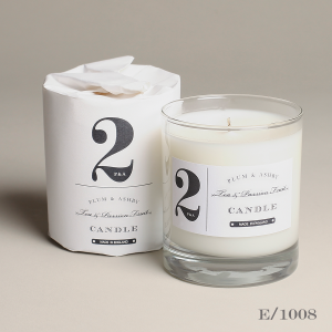 Tea & passionfruit scented candle No. 2