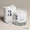 pomegranate scented candle No. 3 glass jar