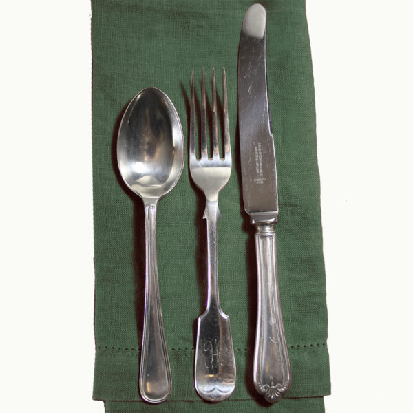 Vintage Silver Plate Hotel Cutlery