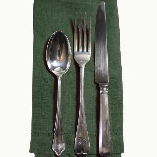Vintage Silver Plate Hotel Cutlery