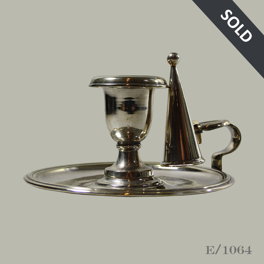 E1064 Vintage Silverplate Candlestick Candle Holder_44