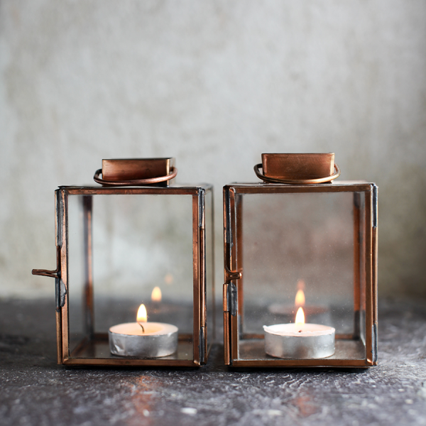 copper_tealight_lantern_candle_holder