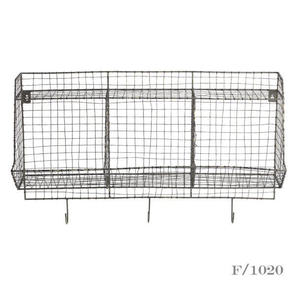 wire storage shelf unit
