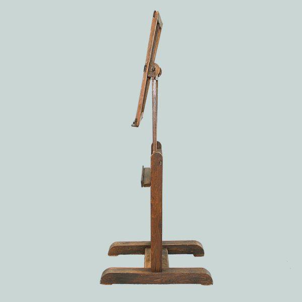 vintage, wooden, artists, easel, vintage wooden artists easel