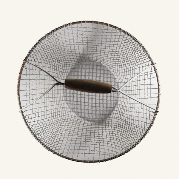 Vintage Wire Round Basket