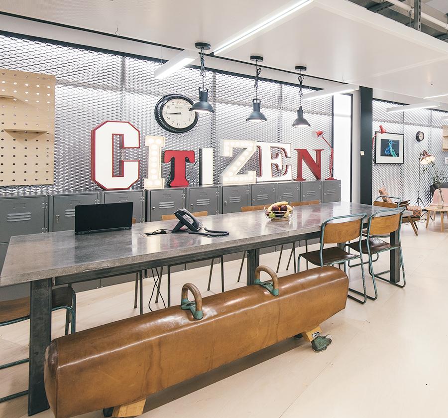 Citizen, Vintage Matters, vintage, letters, illuminated, reception,