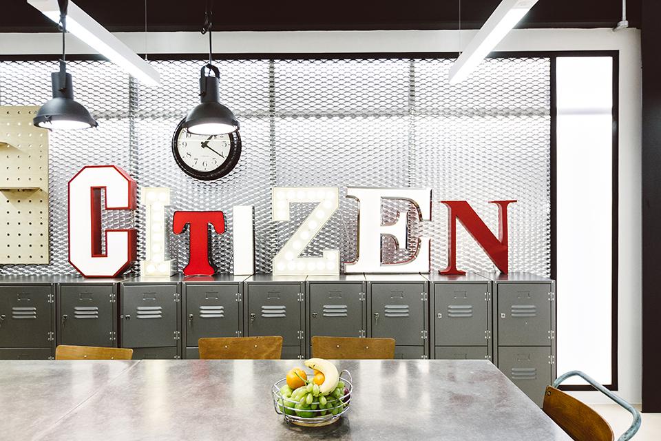 Citizen, Vintage Matters, vintage, letters, illuminated,