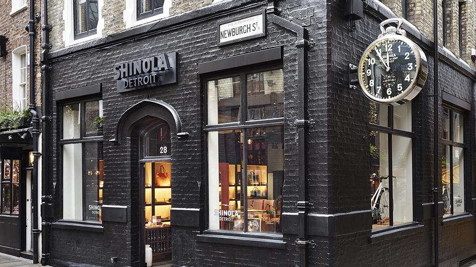 shinola, london,