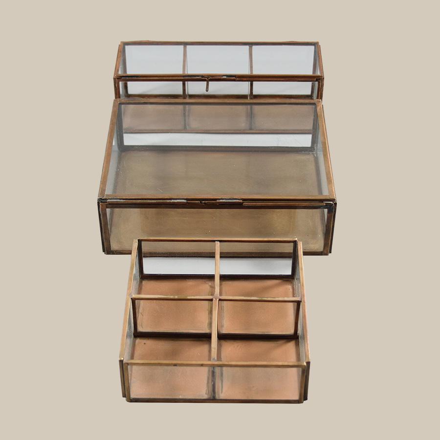Agd Copper Keepsake Storage Boxes