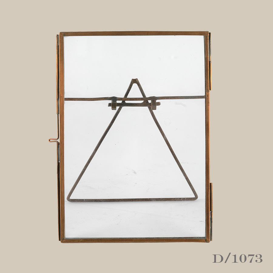 Large Standing Copper Frame – Vintage Matters