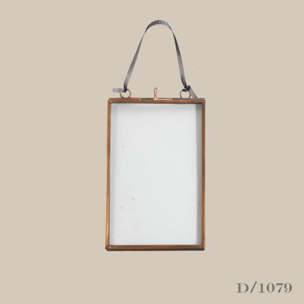 """small portrait copper frame 5"""" x 7"""""""