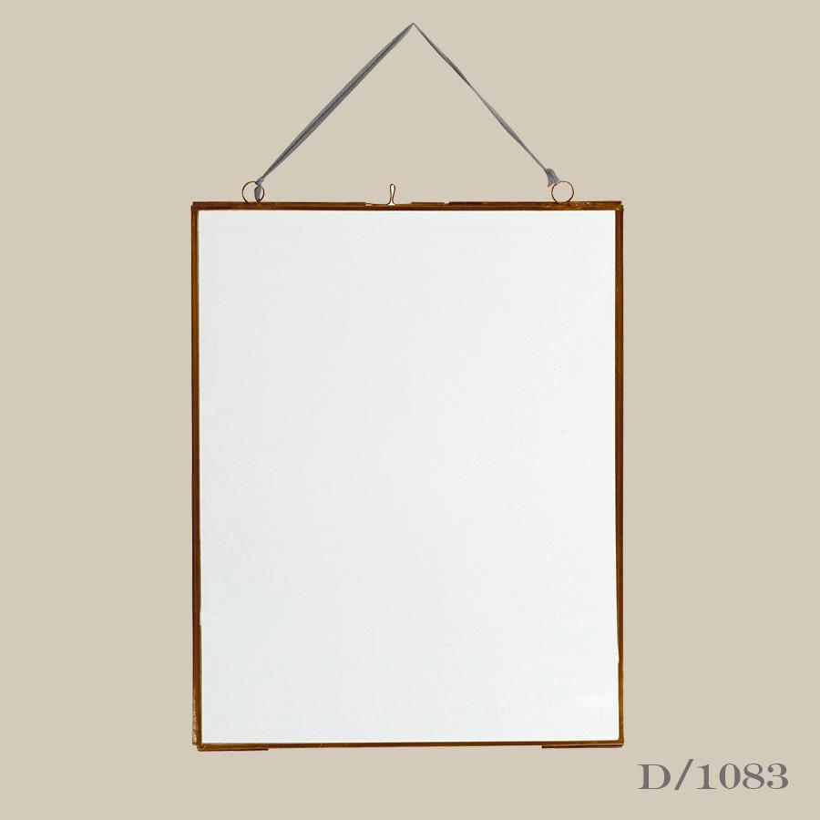 Copper & Glass Photo Frame Portrait