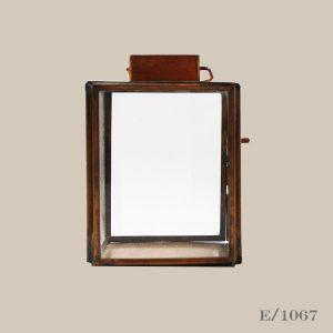 copper tealight lantern holder