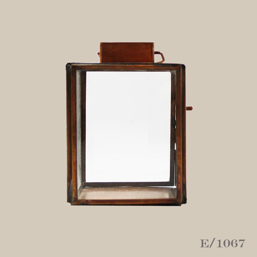 copper lantern tealight holder