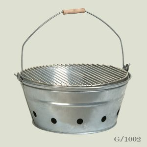Large Round Barbeque