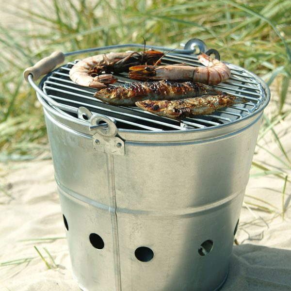 Portable Bucket Barbeque BBQ