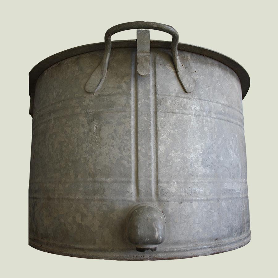 Large Oval Vintage Zinc Planter Vintage Matters