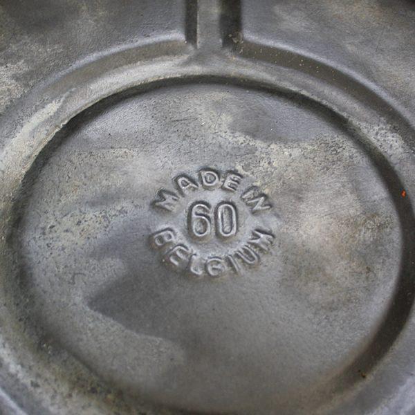 Round Vintage Zinc Planter
