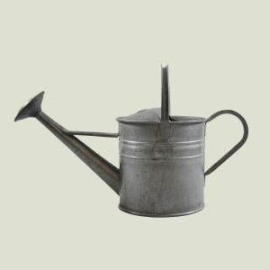Vintage 1 Gallon Watering Can Galvanised Zinc