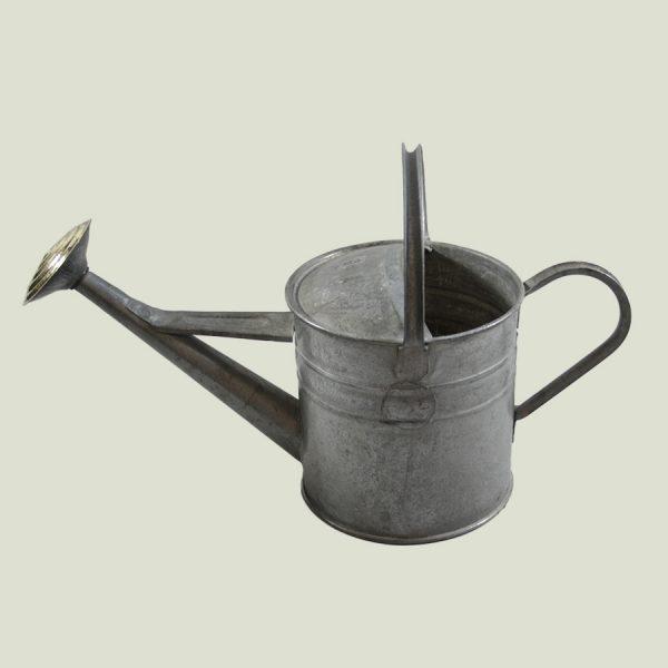 Vintage 1 Gallon Watering Can Galvanised Zinc