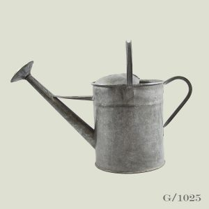 Vintage 2 Gallon Watering Can Galvanised Zinc