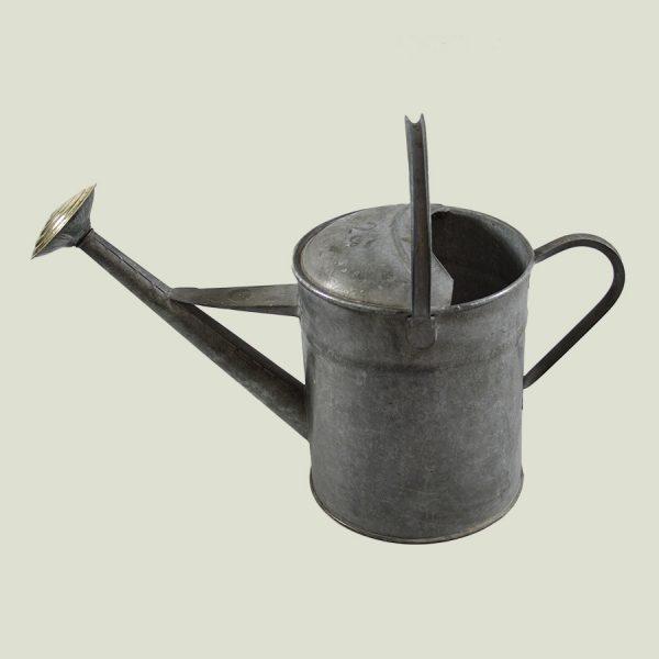 Vintage 2 Gallon Watering Can Galvanised Zinc