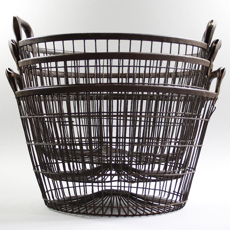Vintage Round Wire Oyster Basket – Vintage Matters