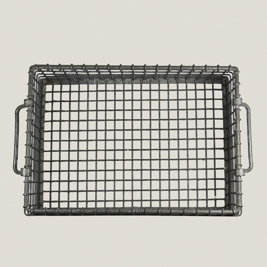 Vintage Industrial Wire Basket – Vintage Matters