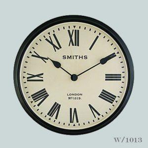 Smiths Station Clock Black