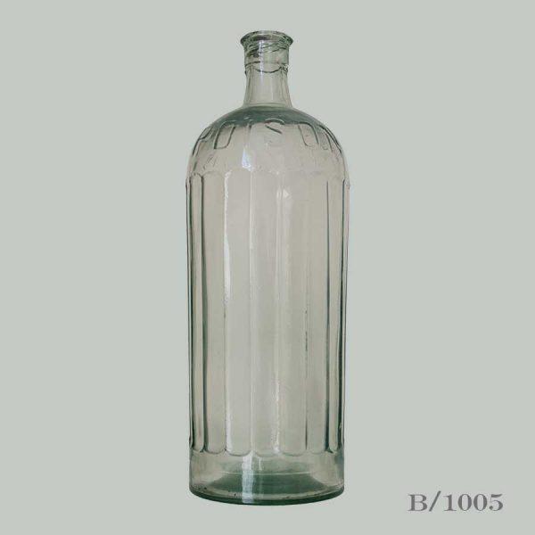 Vintage Glass Poison Bottle