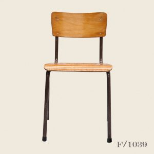 Vintage Stacking School Chairs Plywood