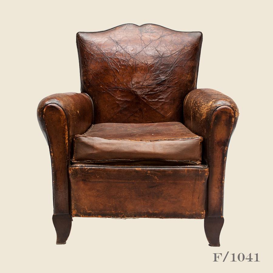 vintage moustache leather club armchair vintage matters