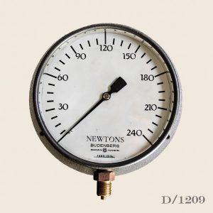 Vibtage Steel Pressure Gauge