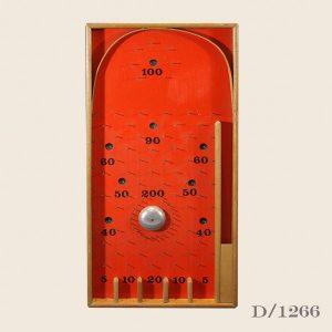 Vintage Retro Bagatelle Board
