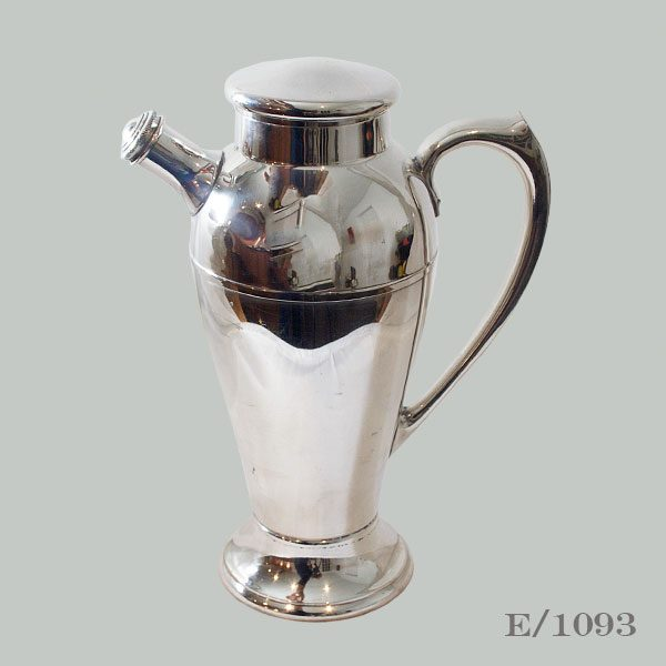 Large Vintage Silverplate Cocktail Shaker