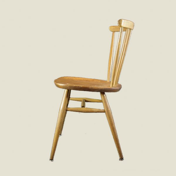 Vintage Ercol style dining chairs