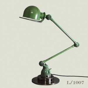Vintage Green Jielde Desk Lamp